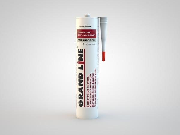 Герметик каучуковый для кровли Grand Line прозрачный