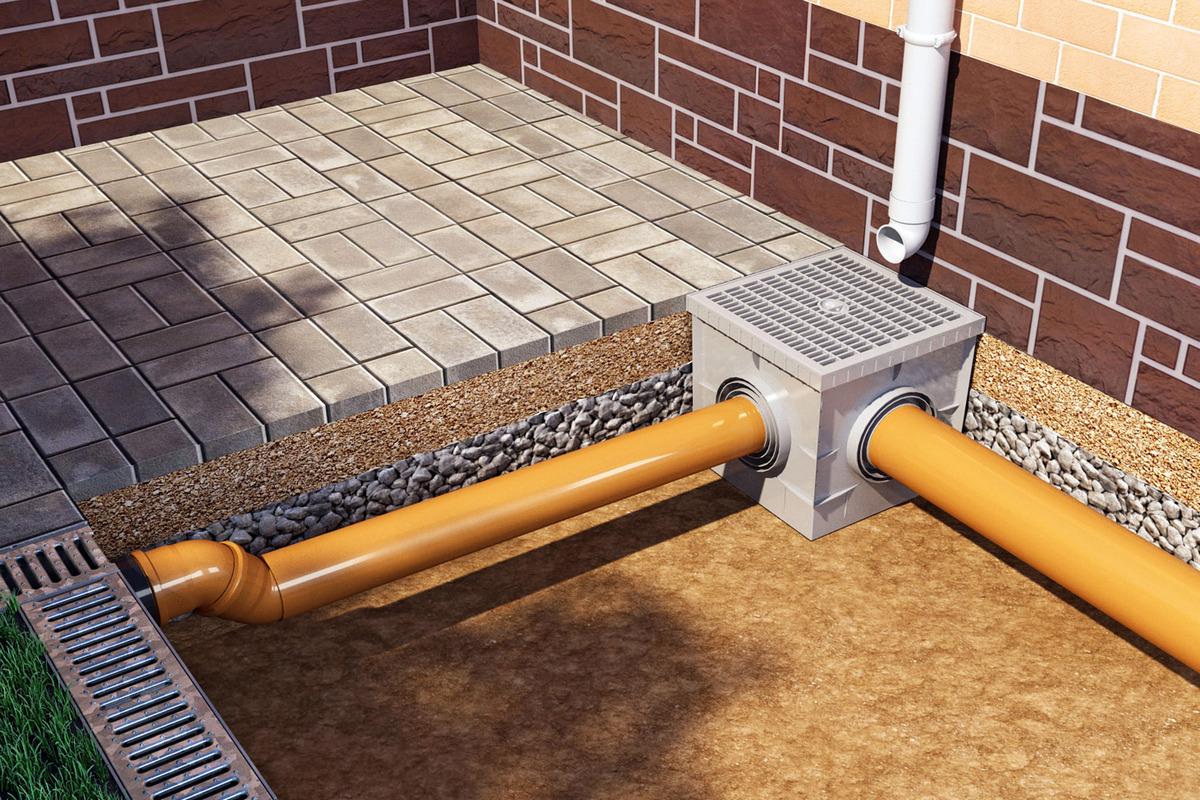 Дренажная система водоотведения Гидролика