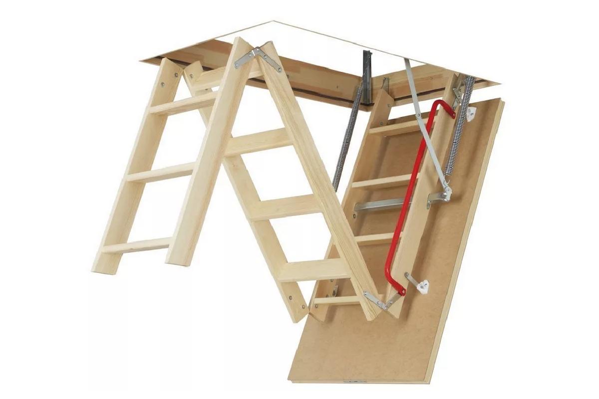 Деревянная чердачная лестница Fakro LWS