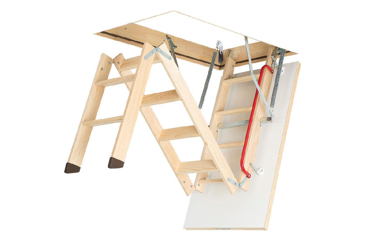Деревянная чердачная лестница Fakro LWK Plus